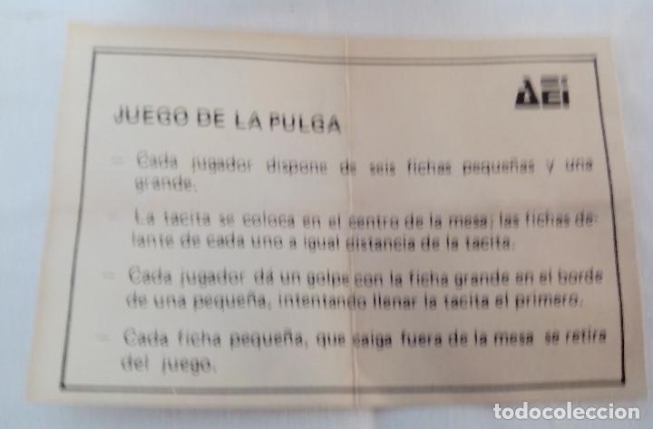 Juegos de mesa: CAJA DE MADERA JUEGO DE LA PULGA - MINIATURA - Foto 3 - 119339855
