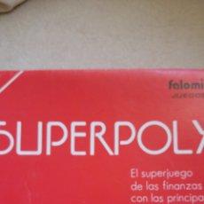 Juegos de mesa: JUEGO SUPERPOLY. FALOMIR COMPLETO AÑOS 80. Lote 119589423