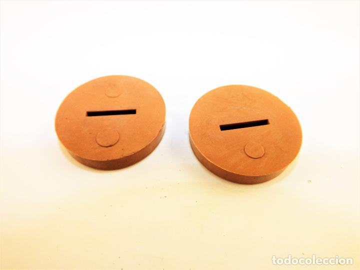 Juegos de mesa: Bases para figuras troqueladas tipo Bimbo (Subbuteo) - Foto 3 - 212474532