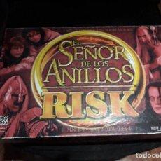 Juegos de mesa: 05-00050 RISK EL SEÑOR DE LOS ANILLOS + TABLERO EXTENSION (CASERO). Lote 120068319