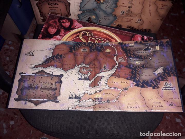 Juegos de mesa: 05-00050 RISK EL SEÑOR DE LOS ANILLOS + TABLERO EXTENSION (CASERO) - Foto 6 - 120068319