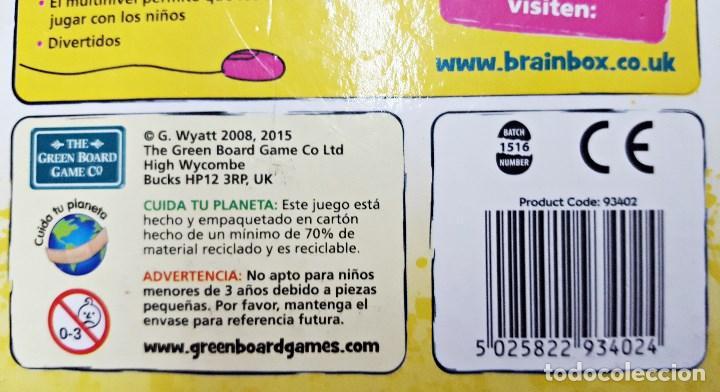 Juego De Mesa Brainbox De Los Pequenines Comprar Juegos De Mesa