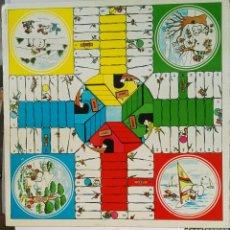 Juegos de mesa: PARCHÍS OCA MADERA CON DIBUJOS ANIMADOS SNOOPY. Lote 120443930
