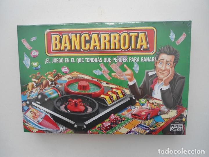 BANCARROTA - PARKER - JUEGO DE MESA HASBRO 2004 - NUEVO Y PRECINTADO (Juguetes - Juegos - Juegos de Mesa)