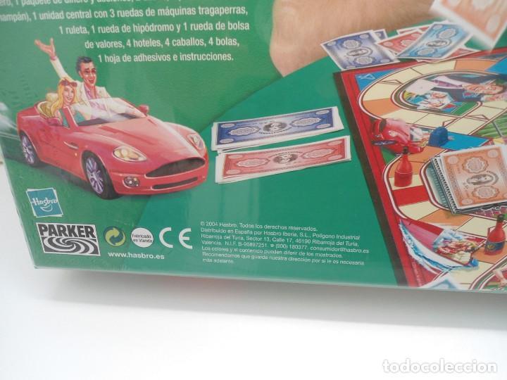 Juegos de mesa: BANCARROTA - PARKER - JUEGO DE MESA HASBRO 2004 - NUEVO Y PRECINTADO - Foto 9 - 120486727