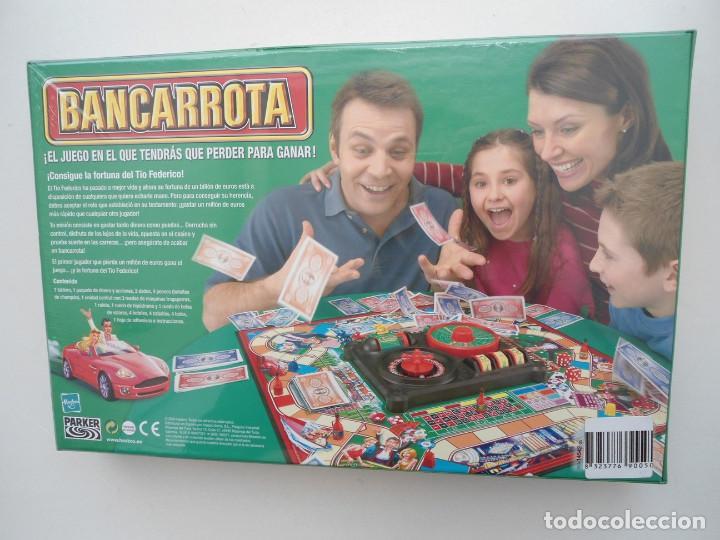 Juegos de mesa: BANCARROTA - PARKER - JUEGO DE MESA HASBRO 2004 - NUEVO Y PRECINTADO - Foto 10 - 120486727