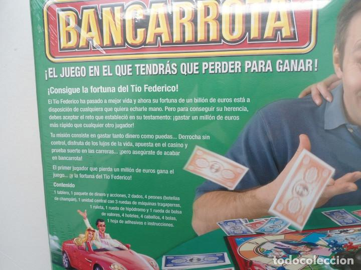 Juegos de mesa: BANCARROTA - PARKER - JUEGO DE MESA HASBRO 2004 - NUEVO Y PRECINTADO - Foto 12 - 120486727