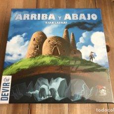Juegos de mesa: JUEGO DE MESA - ARRIBA Y ABAJO - DEVIR - PRECINTADO. Lote 120582903