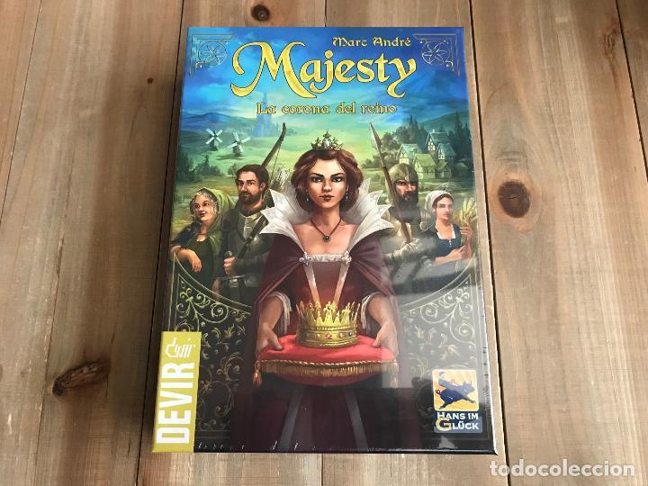 JUEGO DE MESA - MAJESTY - DEVIR - PRECINTADO (Juguetes - Juegos - Juegos de Mesa)