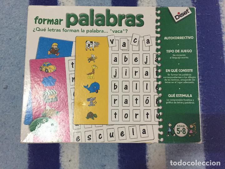 Formar Palabras Disert Juego De Mesa Educativo Comprar Juegos De