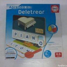 Juegos de mesa: APRENDO A... DELETREAR. Lote 120747790