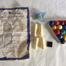 Juegos de mesa: ENVÍO 8€. JUEGO DE BILLAR CHAPOLIN AMERICANO COMPLETO CON INSTRUCCIONES. Lote 120788347