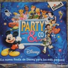 Juegos de mesa: PARTY & CO , DISNEY * DISET ESPAÑA AÑO 2007/2010* DESCATALOGADO E INCOMPLETO VER DESCRIPCION. Lote 120797843