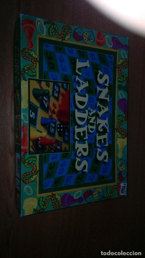 SNAKES AND LADDERS (Juguetes - Juegos - Juegos de Mesa)
