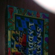 Juegos de mesa: SNAKES AND LADDERS. Lote 120944131