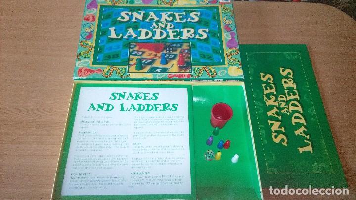 Juegos de mesa: SNAKES AND LADDERS - Foto 2 - 120944131