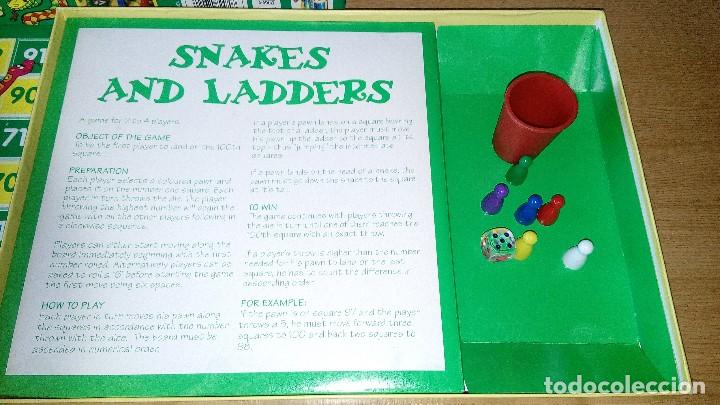 Juegos de mesa: SNAKES AND LADDERS - Foto 4 - 120944131