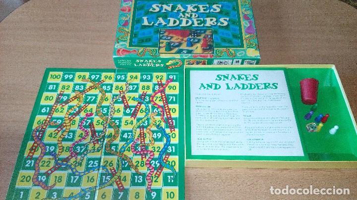 Juegos de mesa: SNAKES AND LADDERS - Foto 5 - 120944131