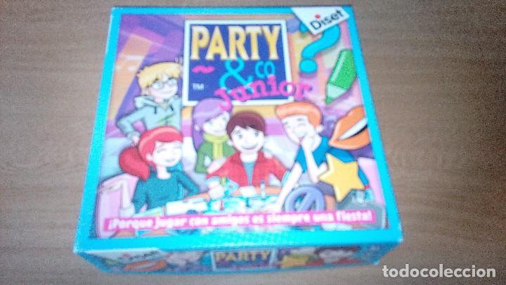 Party Junior Comprar Juegos De Mesa Antiguos En Todocoleccion