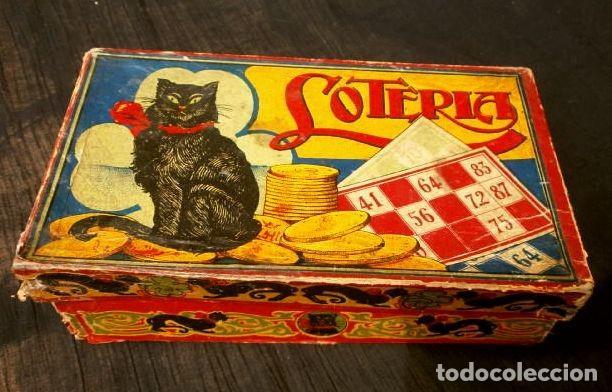 Antiguo Juego De Loteria Familiar Con Su Caja O Comprar Juegos De