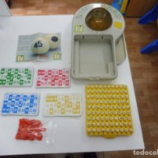 Juegos de mesa: LOTO BINGO ELECTRIC LOTERÍA JUGUETES CHICOS COMPLETO CON INSTRUCCIONES SIN CAJA REFERENCIA 2230. Lote 121036211