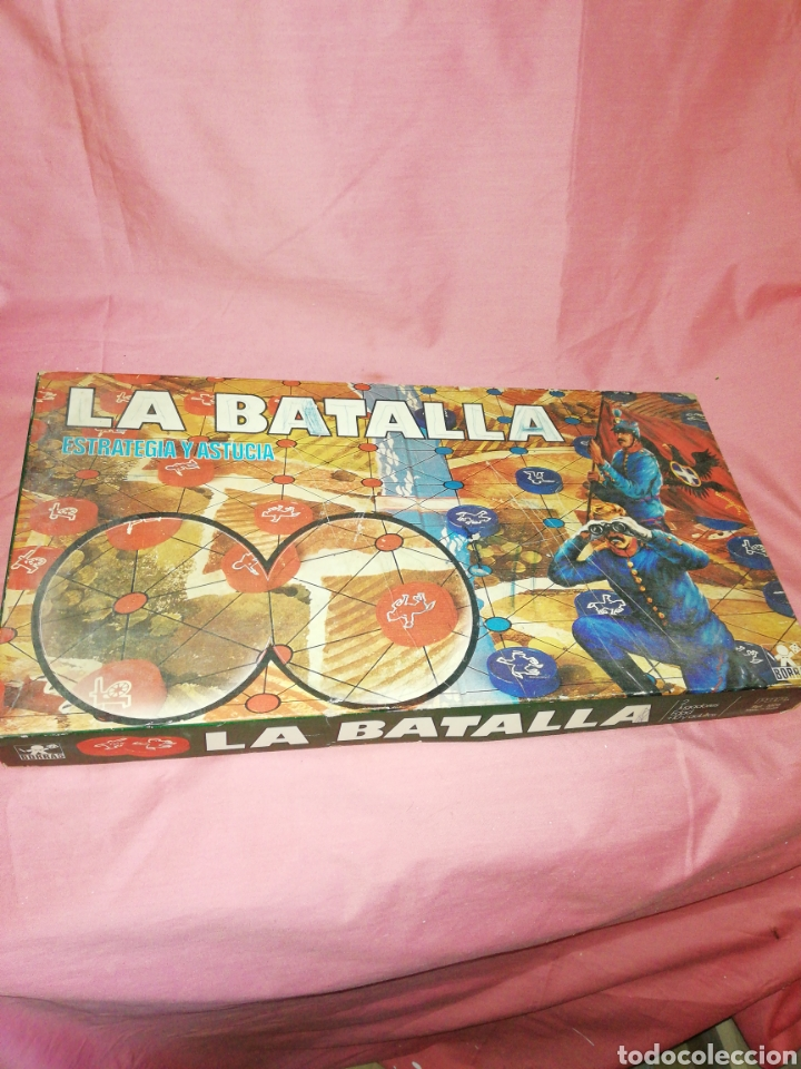 LA BATALLA ESTRATEGIA Y ASTUCIA BORRAS (Juguetes - Juegos - Juegos de Mesa)