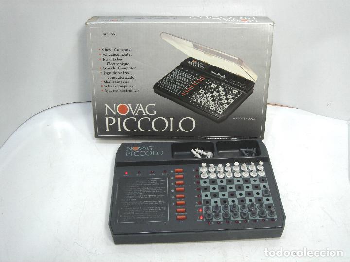 MINI AJEDREZ ELECTRONICO - NOVAG PICCOLO 851 + CAJA - PORTATIL DE VIAJE VINTAGE PICOLO (Juguetes - Juegos - Juegos de Mesa)