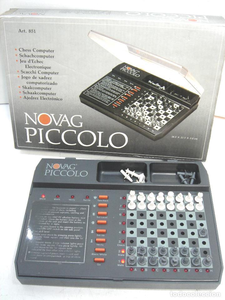 Juegos de mesa: MINI AJEDREZ ELECTRONICO - NOVAG PICCOLO 851 + CAJA - PORTATIL DE VIAJE VINTAGE PICOLO - Foto 2 - 121252467