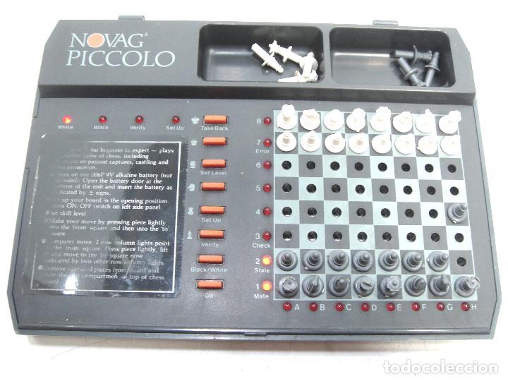 Juegos de mesa: MINI AJEDREZ ELECTRONICO - NOVAG PICCOLO 851 + CAJA - PORTATIL DE VIAJE VINTAGE PICOLO - Foto 3 - 121252467
