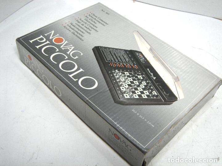 Juegos de mesa: MINI AJEDREZ ELECTRONICO - NOVAG PICCOLO 851 + CAJA - PORTATIL DE VIAJE VINTAGE PICOLO - Foto 9 - 121252467