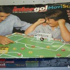 Juegos de mesa: JUEGO DE MESAFÚTBOL CHAPAS INTERGOL MOVISTAR INTERVIU. Lote 121363591
