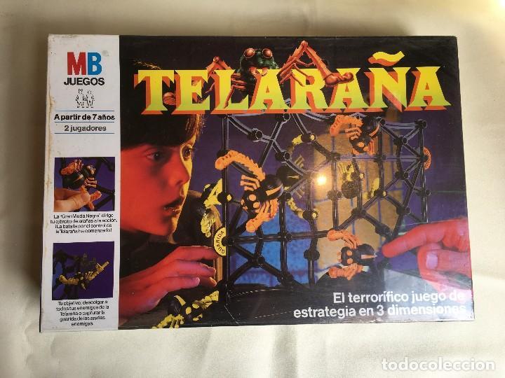 JUEGO TELARAÑA DE MB - NUEVO (Juguetes - Juegos - Juegos de Mesa)