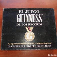 Juegos de mesa: EL JUEGO GUINESS DE LOS RECORDS - EL JUEGO DE MESA - PUBLIJUEGO - AÑOS 90. Lote 121554491