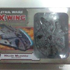Juegos de mesa: STAR WARS X-WING: EL JUEGO DE MINIATURAS. HALCÓN MILENARIO. PACK DE EXPANSIÓN.. Lote 121726331