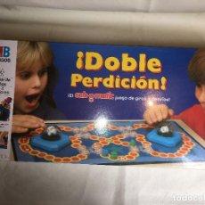 Juegos de mesa: JUEGO DOBLE PERDICION DE MB - NUEVO. Lote 155243581