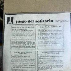 Juegos de mesa: JUEGO DE SOLITARIO MAGNÉTICO 30 CM. Lote 121928251