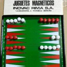 Juegos de mesa: JUEGO DE BACKGAMMON MAGNÉTICO 15 CM. Lote 121928335