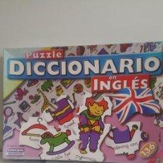 Juegos de mesa: PUZZLE / DICCIONARIO EN INGLES. Lote 121934555