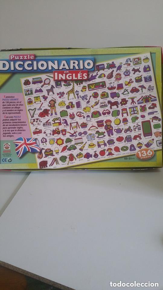 Puzzle Diccionario En Ingles Comprar Juegos De Mesa Antiguos En