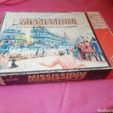 Juegos de mesa: MISSISSIPPI JUEGO DE MESA MATTEL. Lote 122026512