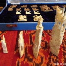 Juegos de mesa: FIGURAS DE AJEDREZ INDIO. Lote 122034083
