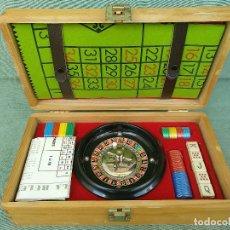 Juegos de mesa: RARO JUEGO DE RULETA Y DADOS MARCA VIPO SIN USO. Lote 122187811