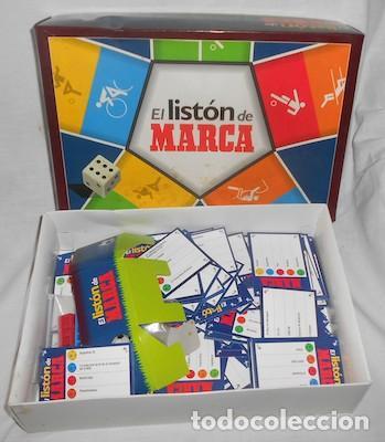 JUEGO EL LISTÓN DE MARCA (Juguetes - Juegos - Juegos de Mesa)
