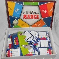 Juegos de mesa: JUEGO EL LISTÓN DE MARCA. Lote 122257987
