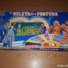 Juegos de mesa: LA RULETA DE LA FORTUNA. Lote 122460815