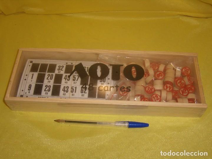 Bingo De Fichas CartonesCaja Sin Lotto AbrirPrecintado Nuevo Madera48 qLRj35A4