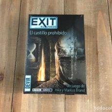 Juegos de mesa: JUEGO DE MESA - EXIT 6: EL CASTILLO PROHIBIDO - DEVIR - PRECINTADO - ESCAPE ROOM. Lote 122749947