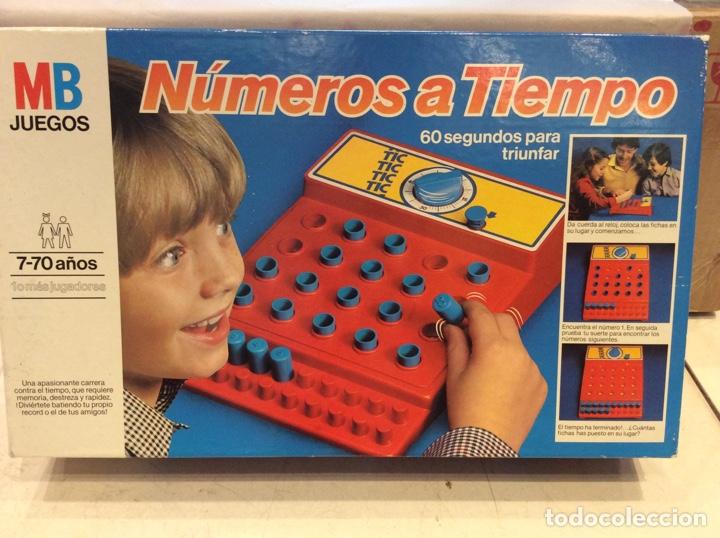 Numeros A Tiempo Mb Juegos Comprar Juegos De Mesa Antiguos En