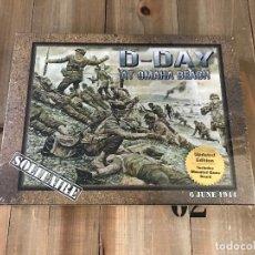 Juegos de mesa: JUEGO WARGAME - D-DAY AT OMAHA BEACH - 2ND EDITION - DECISION GAMES - PRECINTADO - WWII D-DAY. Lote 123292347