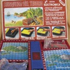 Juegos de mesa: BUSQUEDA DEL TESORO . JUEGOS ELECTRONICOS JUYPA SA COMPLETO. Lote 123343227